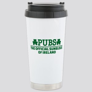 Pubs official sunblock Stainless Steel Travel Mug