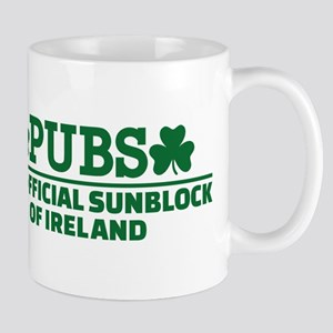 Pubs official sunblock of Ireland Mug