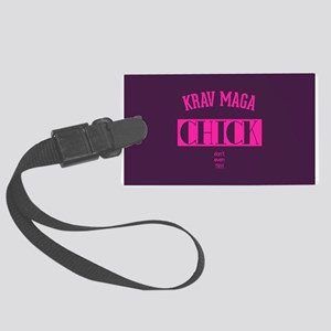 Krav Maga Chick - Dont even try Luggage Tag