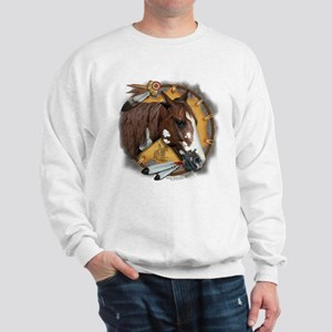 War Pony & Shield Sweatshirt