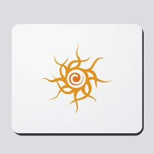 TRIBAL SUN Mousepad