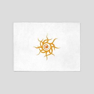 TRIBAL SUN 5'x7'Area Rug