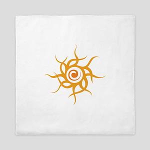 TRIBAL SUN Queen Duvet