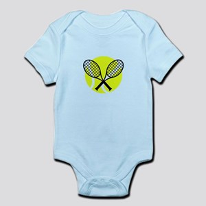 TENNIS BALL RAQUETS Body Suit