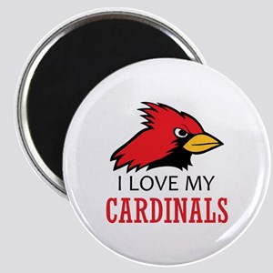LOVE MY CARDINALS Magnets