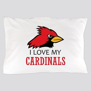 LOVE MY CARDINALS Pillow Case