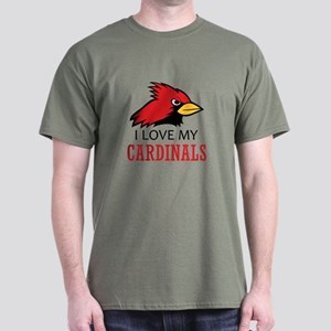 LOVE MY CARDINALS T-Shirt
