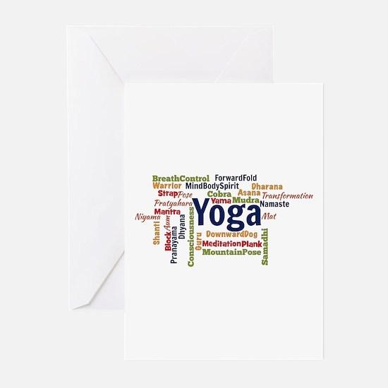 Cool Namaste Greeting Cards (Pk of 20)