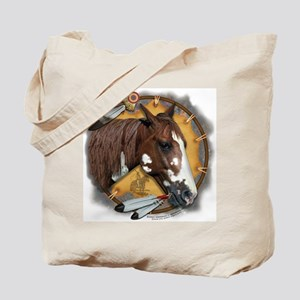 War Pony & Shield Tote Bag
