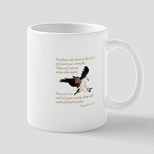 ISAIAH BIBLE VERSE Mugs