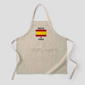 Trust Me Im Spanish Apron
