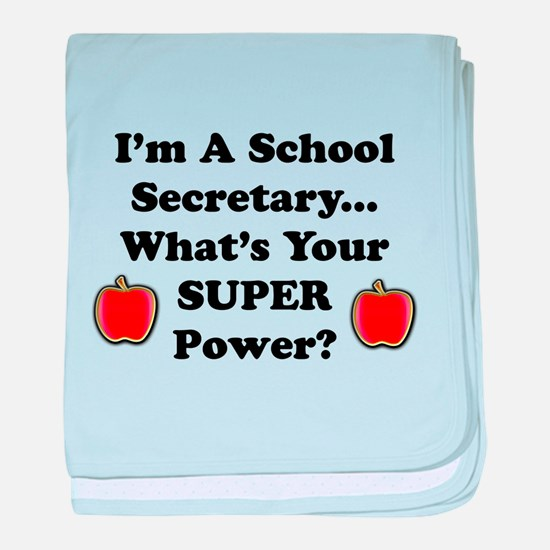 I secretary.png baby blanket
