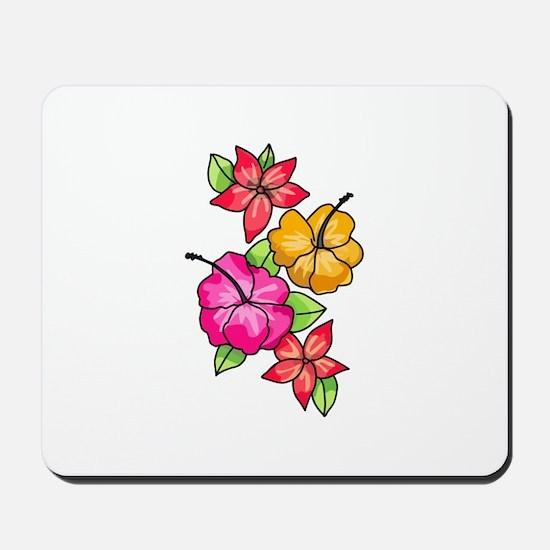Tropical Flowers Mousepad