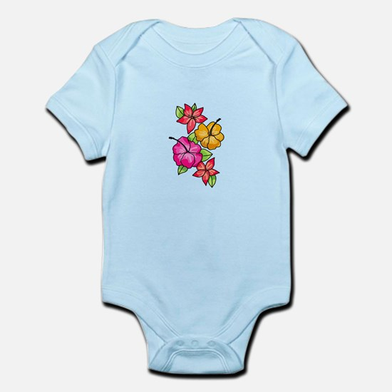 Tropical Flowers Body Suit