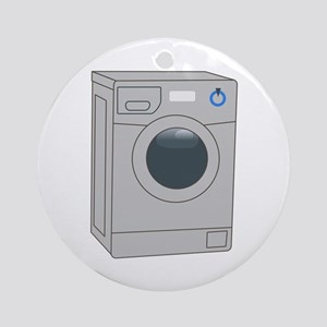 FRONT LOADER WASHER Ornament (Round)
