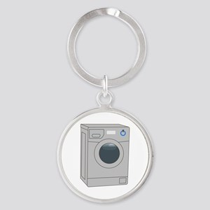 FRONT LOADER WASHER Keychains