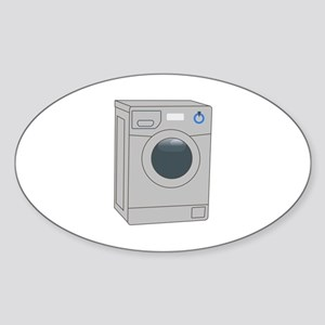 FRONT LOADER WASHER Sticker