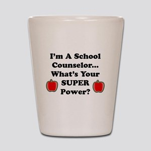 I teach counselor Shot Glass