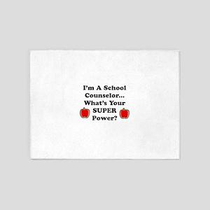 I teach counselor 5'x7'Area Rug