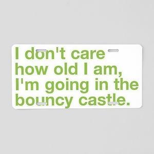 bouncy castle Aluminum License Plate