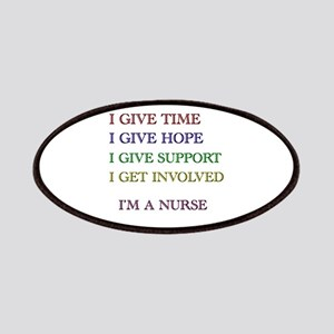I GIVE TIME copy Patches