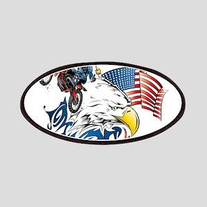 Patriotic Dirtbiker USA Patches