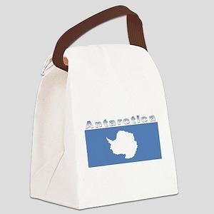 Antarctic flag Canvas Lunch Bag