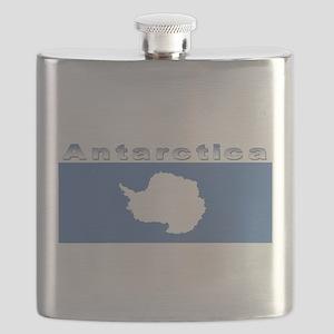 Antarctic flag Flask