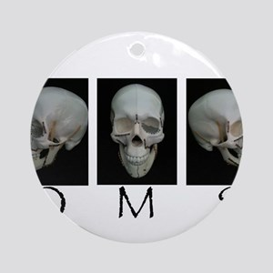 OMS surgical skull Ornament (Round)