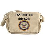 USS DORTCH Messenger Bag