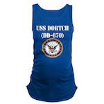 USS DORTCH Maternity Tank Top