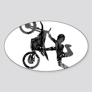 Freestyle Motocross Grunge Sticker