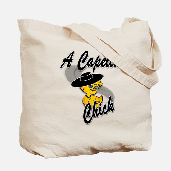 Retired Chick #4 Tote Bag