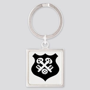 guild symbol locksmith Keychains