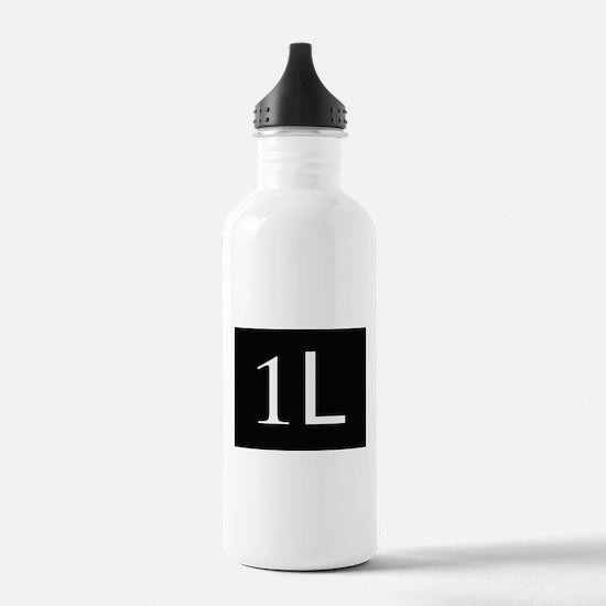 1L, first year law stu Water Bottle