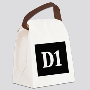 D1, first year dental student Canvas Lunch Bag