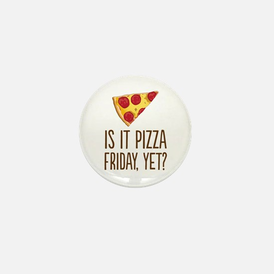 Pizza Friday Mini Button