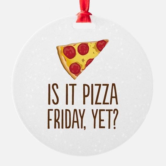 Pizza Friday Ornament