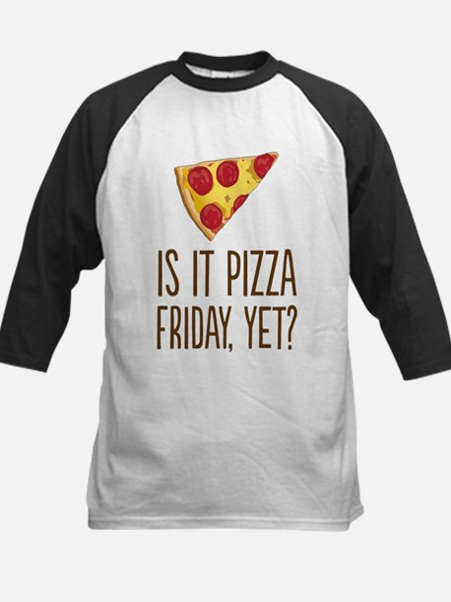 Pizza Friday Baseball Jersey