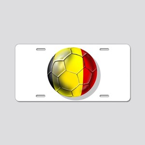 Belgium Football Aluminum License Plate