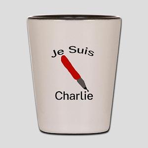 Je Suis Charlie Shot Glass