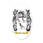 Jeandel Oval Car Magnet
