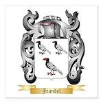 Jeandel Square Car Magnet 3