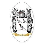 Jeandeau Sticker (Oval)