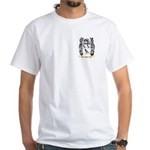 Jean White T-Shirt