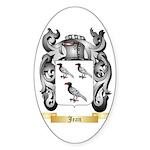 Jean Sticker (Oval 10 pk)