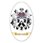 Jeakins Sticker (Oval 50 pk)