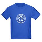 White Emblem Kids Dark T-Shirt