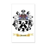 Jeacock 20x12 Wall Decal