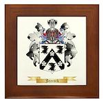 Jeacock Framed Tile
